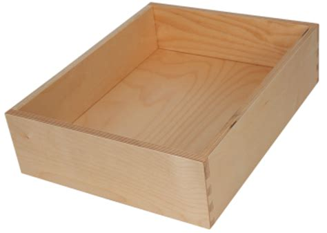 plywood dovetailed drawer boxes walzcraft