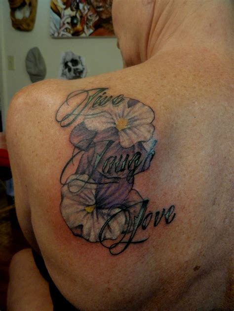 live tattoo designs live laugh tattoos i done