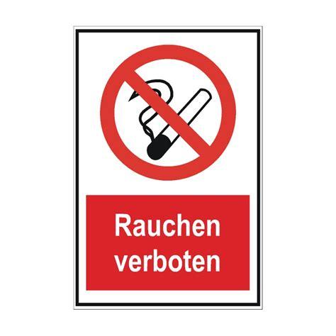 Ein Friseur Verbotsschild Rauchen Verboten Schild