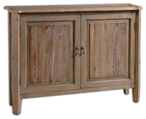 Altair Reclaimed Wood Console Cabinet Rustic Accent