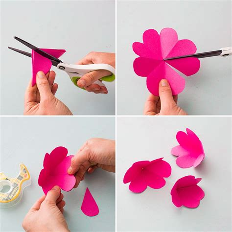 How To Make Paper Flowers For Cards - with a pop up card this mother s day brit co