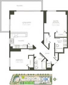 One Bedroom Condos miami luxury apartment floorplans one broadway floorplan
