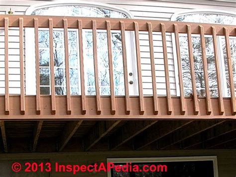 Banister Repair Deck Guardrail Or Stair Railing Baluster Installation