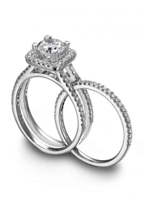 is the wedding band on the inside or outside wedding band fits inside engagement ring magic
