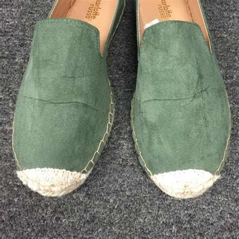 shoes in a bag flats 15 russe shoes new in a bag pine green