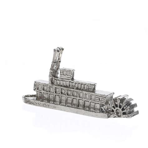 paddle wheel river boat for sale miniature pewter paddle wheel river boat miniatures sale