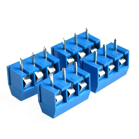 3 Pin Terminal Block Connector aliexpress buy 50pcs 3 pin terminal block connector 5mm pitch 5 08 301 3p 301 3p