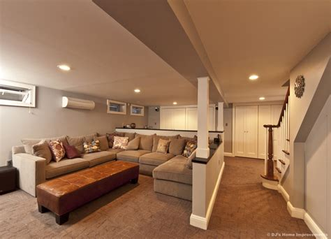 designing a finished basement modern contemporary basement design build remodel modern