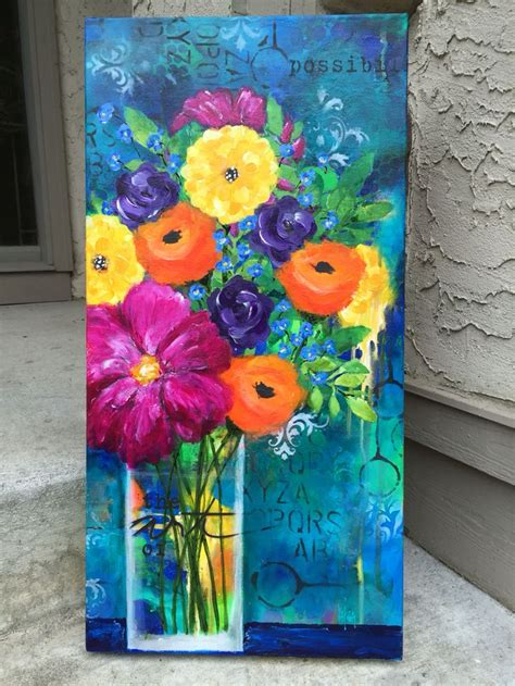 acrylic painting ideas flowers best 25 spray paint stencils ideas on diy
