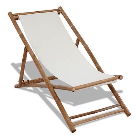 bamboo couch and chairs vidaxl co uk deck chair bamboo and canvas