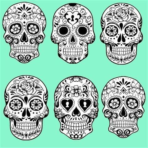 sugar skulls tattoo me pinterest skull design dia