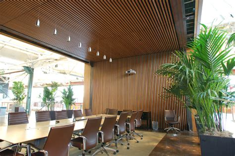 wood ceilings and walls finish line