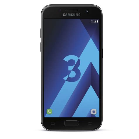 Go L0685 A3 2017 Print 3d Samsung samsung galaxy a3 2017 noir mobile smartphone samsung sur ldlc