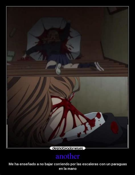 imagenes de anime another another desmotivaciones