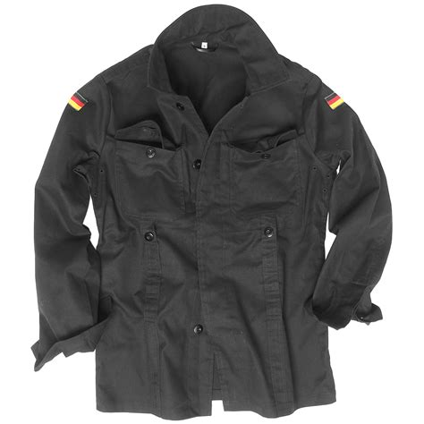 Jacket Bomber Bw mil tec bw german army moleskin jacket mens security cotton shirt black ebay