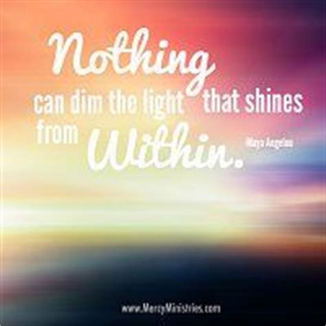 Nothing Can Dim The Light That Shines From Within by 1000 Ministry Quotes On Teresa Quotes