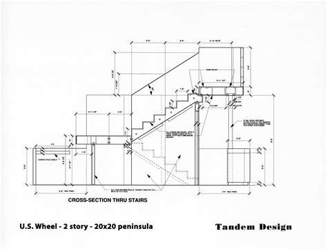technische zeichnung treppe technical drawings by salyer at coroflot