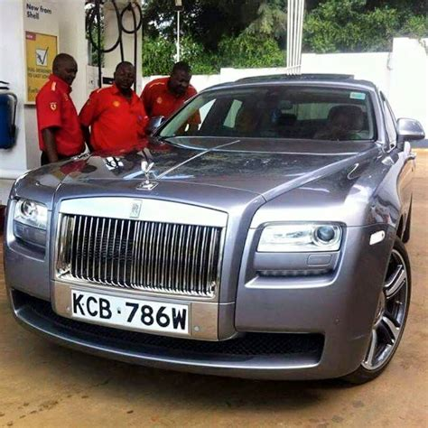 Photo Ksh 30 Million Rolls Royce Ghost Gets Kenyan