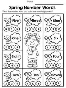 25 ideas number words math numbers number literacy worksheets