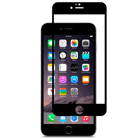 iphone 6 screen protector shop iphone screen protector black ivisor by moshi