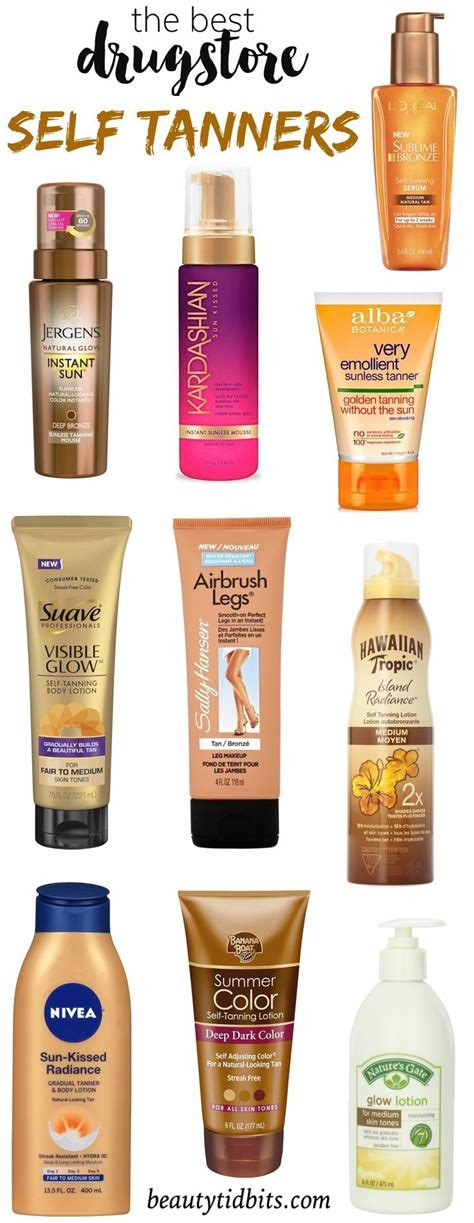 12 Best Self Tanners by Best Self Tanners Pictures To Pin On Pinsdaddy