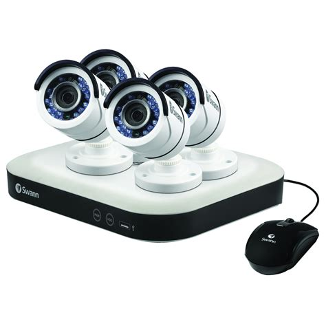 swann dvr8 5000 1080p 8 channel 2tb home security cctv kit