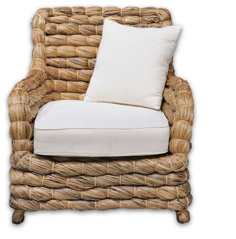 seagrass armchair mallorca seagrass armchair beach style outdoor lounge chairs by the london factory