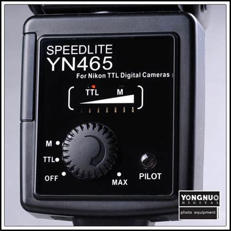 yongnuo yn 465 yn465 ittl i ttl flash speedlight speedlite for nikon yongnuo store