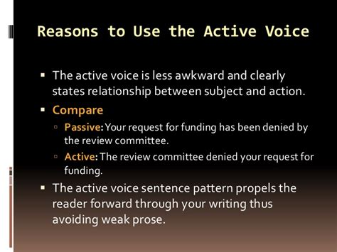 the pattern of passive voice active and passive voice