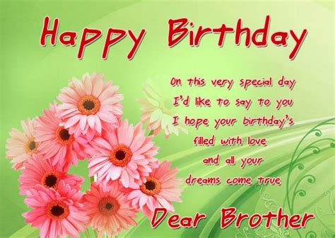 happy birthday brother beautiful happy birthday brother