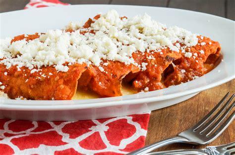 Enchiladas Rojas De Queso | enchiladas cookbook review and enchiladas rojas de queso