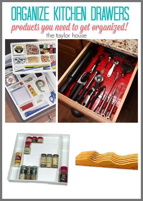 Best Way To Organize Drawer by Best Products To Organize Your Kitchen The House