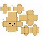 Danbo Le Robot En Carton  Paper Toyfr
