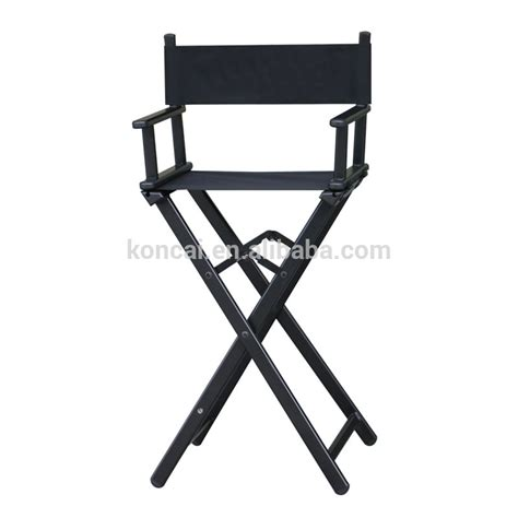 Folding Barber Chair by Professional Hair Salon Wooden Makeup Cosmtic Make Up Make