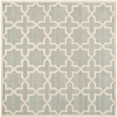 5 foot square rug safavieh ivory multi 5 ft x 5 ft square area rug bel924a 5sq the home depot