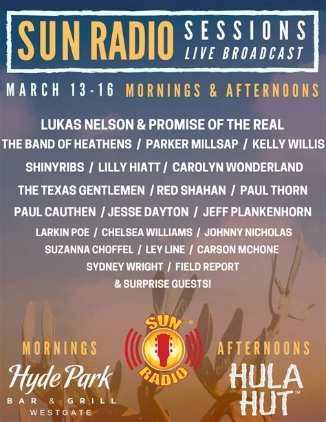 Radio Sessions sun radio sessions