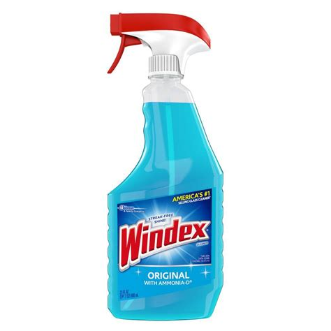 cleaning products windex 23 fl oz original glass cleaner 679598 the home