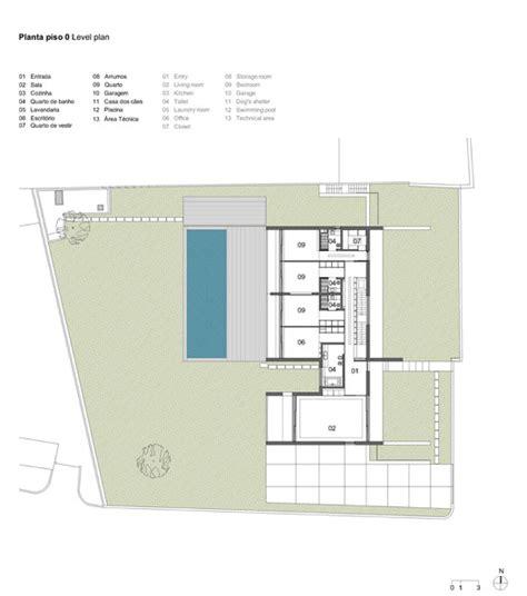 do ground lines go in a floor plan vila do conde house raulino silva arquitecto archdaily