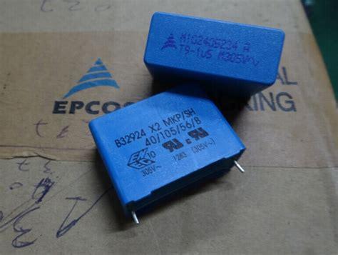 capacitor 100nk capacitor mkp epcos 28 images capacitor sie epcos y2 0 1uf 100nk 250vac hifi mkp in