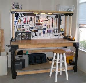 Garage Building Ideas Pics Photos Diy Workbench Ideas