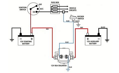 cole hersee solenoid wiring diagram truck dual battery