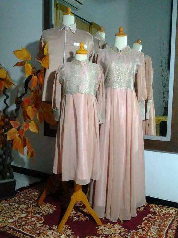 Gamis Ceruty Brukat Payet seragam keluarga family butik jahit