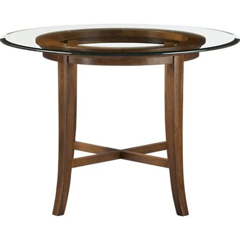crate and barrel glass dining table dining table crate and barrel dining table glass