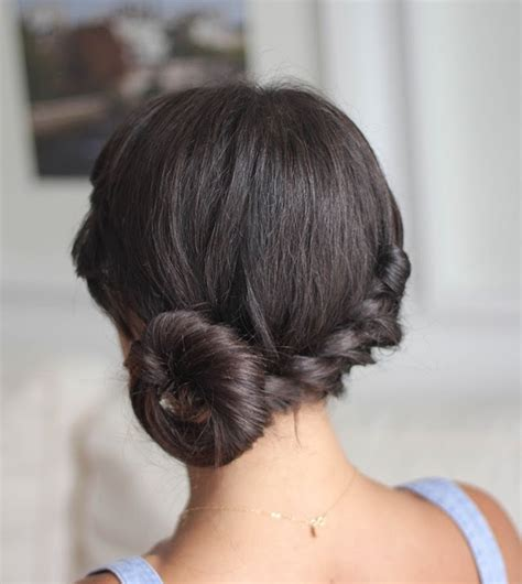 homecoming hairstyles buns 25 chic and cute homecoming hairstyles