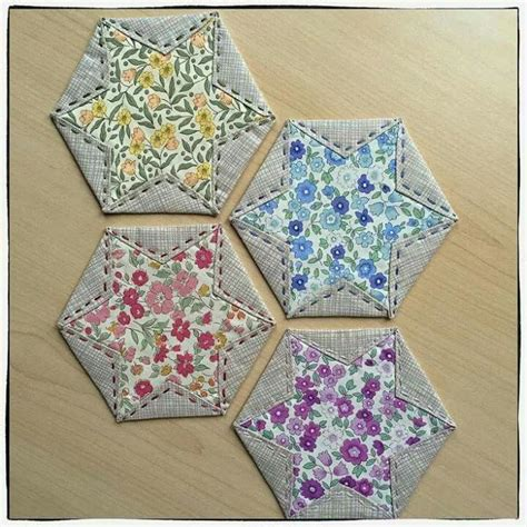 Folded Patchwork Patterns - 87 best japanese folded quilt sqares images on