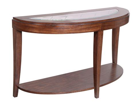 demilune sofa table keaton by magnussen mg t2536 75