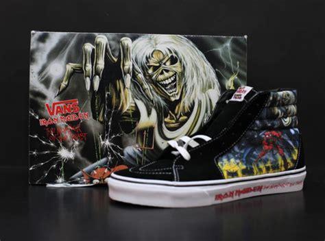 Sepatu Vans Iron Maiden iron maiden x vans quot the number of the beast quot collection