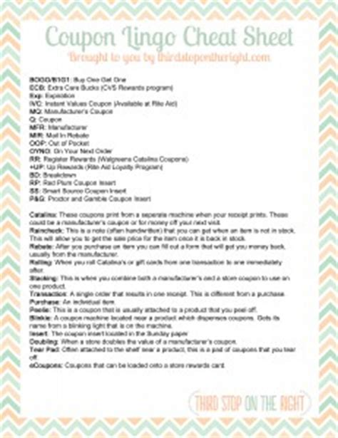 Home Decor Pittsburgh download the coupon lingo cheat sheet printable third