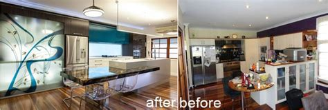 kitchen remodeling in brisbane by sublime architectural before after major kitchen remodeling in brisbane by