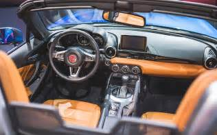 Upholstery Leather Fiat 124 Spider Classica 2017 Available For 26 000 With